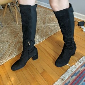Sam Edelman Knee-High Black Boots
